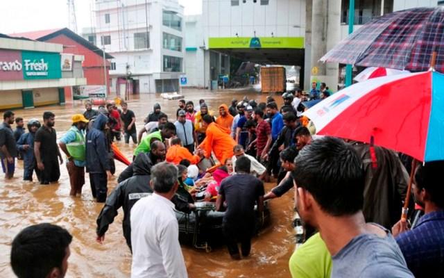 Surgen noticias falsas tras inundaciones en India - Foto de AFP