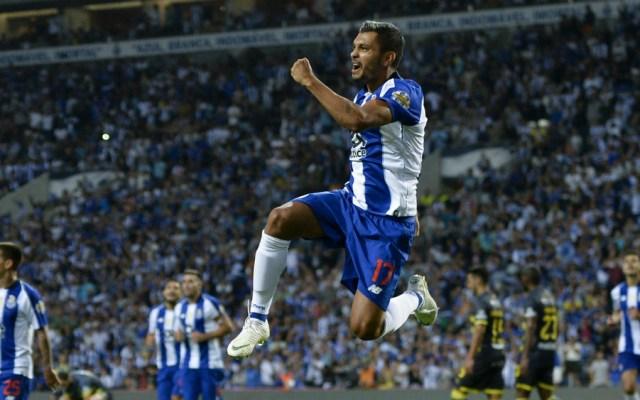 #Video Tecatito anota en goleada del Porto al Nacional - jesus tecatito corona gol porto