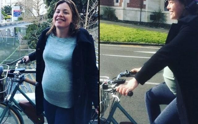 Ministra de Nueva Zelanda da a luz tras llegar al hospital en bicicleta - Foto de Instagram