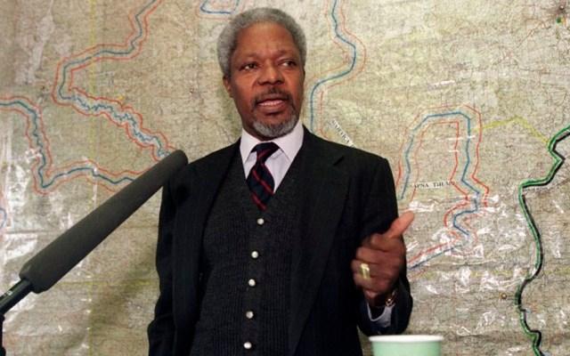 Muere Kofi Annan, exsecretario general de la ONU - Foto de AFP