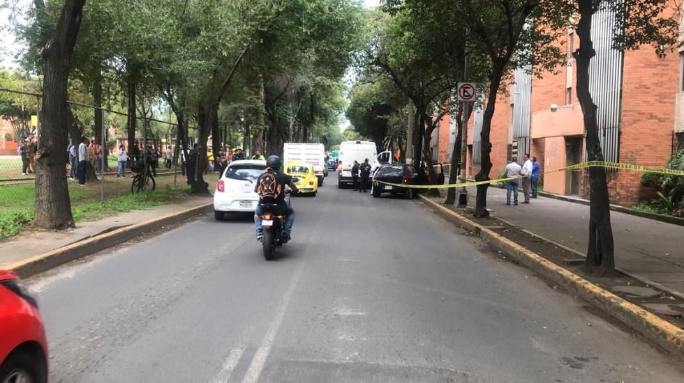 Asesinan a automovilista a balazos en Vallejo - Foto de @A_marquez7