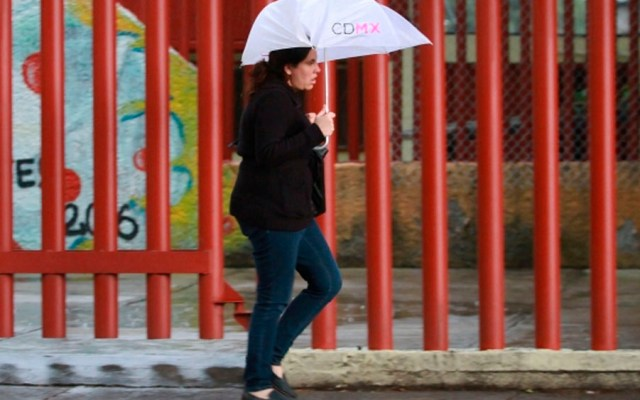 Activan alerta amarilla en nueve delegaciones por lluvia - Foto de Notimex