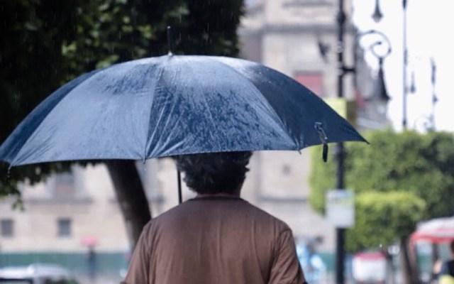Activan Alerta Amarilla en nueve delegaciones por lluvia - Foto de @GobCDMX
