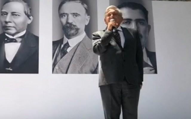 """""""La línea es que no hay línea"""": AMLO sobre licencia a Manuel Velasco - Foto de Twitter"""