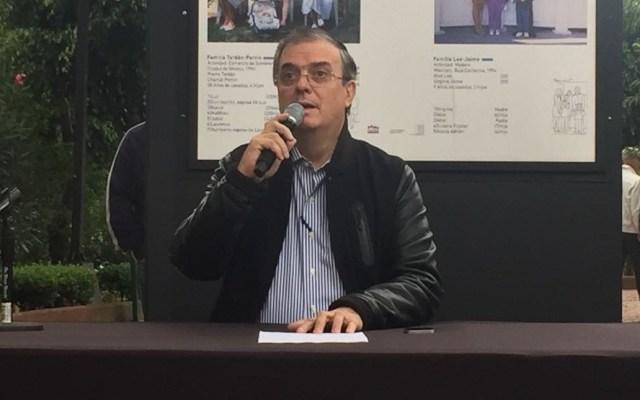 TLCAN sigue negociándose: Marcelo Ebrard - Foto de @ADNPolitico