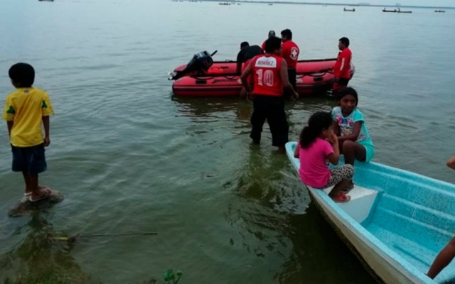 Hallan cuerpos de dos menores desaparecidos en laguna de Acapulco - Foto Especial