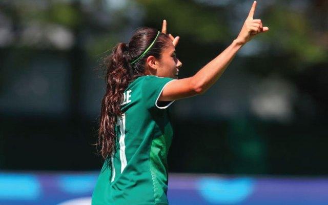 Sub-20 Femenil debuta con victoria ante Brasil en Mundial de Francia - Foto de @miseleccionmx
