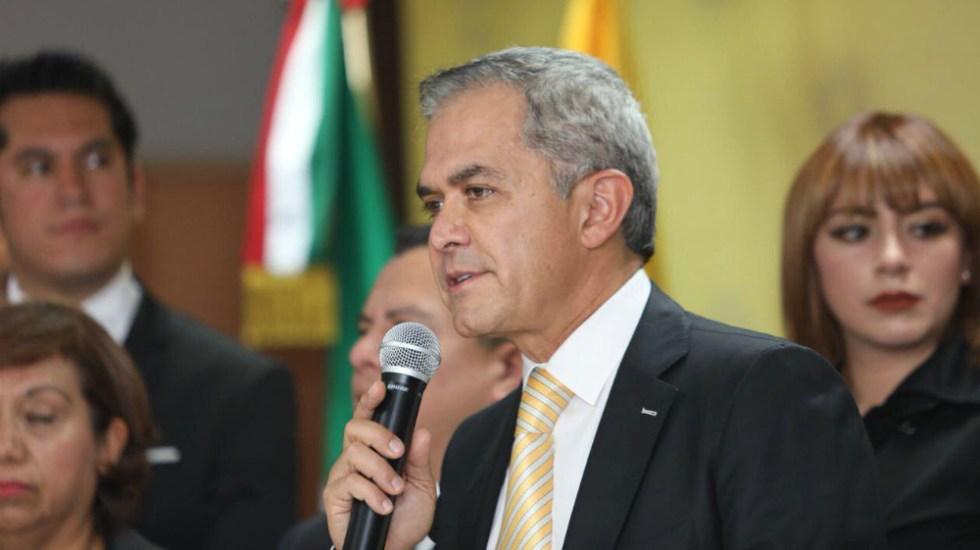 Mancera felicita a negociadores del entendimiento entre México-EE.UU. - Mancera