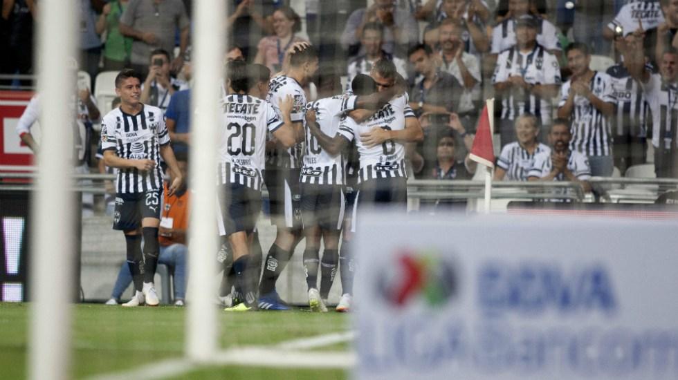 Monterrey le quitó el invicto a los Pumas - Foto de AFP