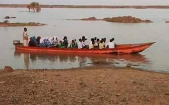 Naufragio deja 23 muertos en el río Nilo en Sudán - Foto de internet