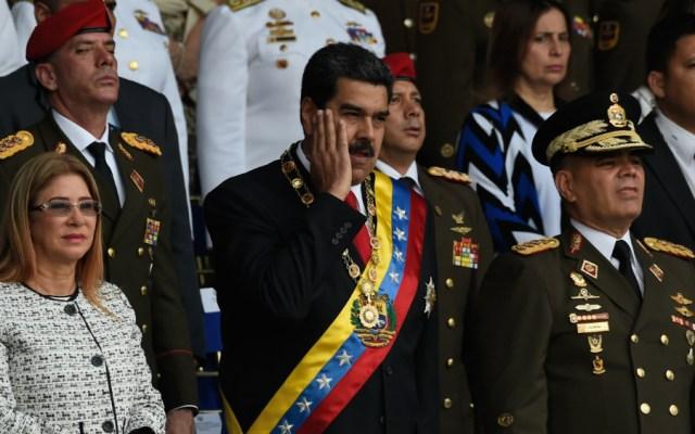 Maduro agradece apoyo de aliados tras atentado - Foto de AFP