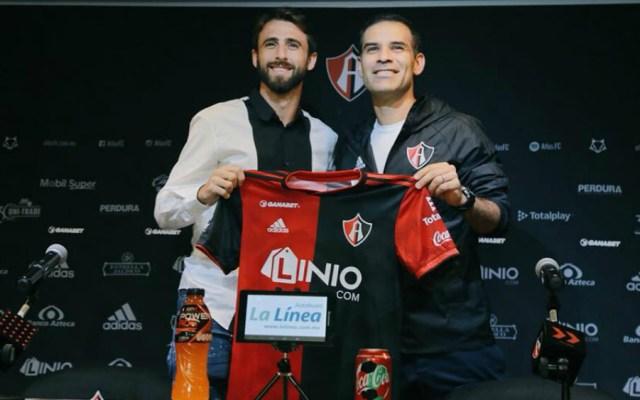 Pareja aceptó que llamada de Rafael Márquez lo convenció de llegar al Atlas - Foto de Atlas FC