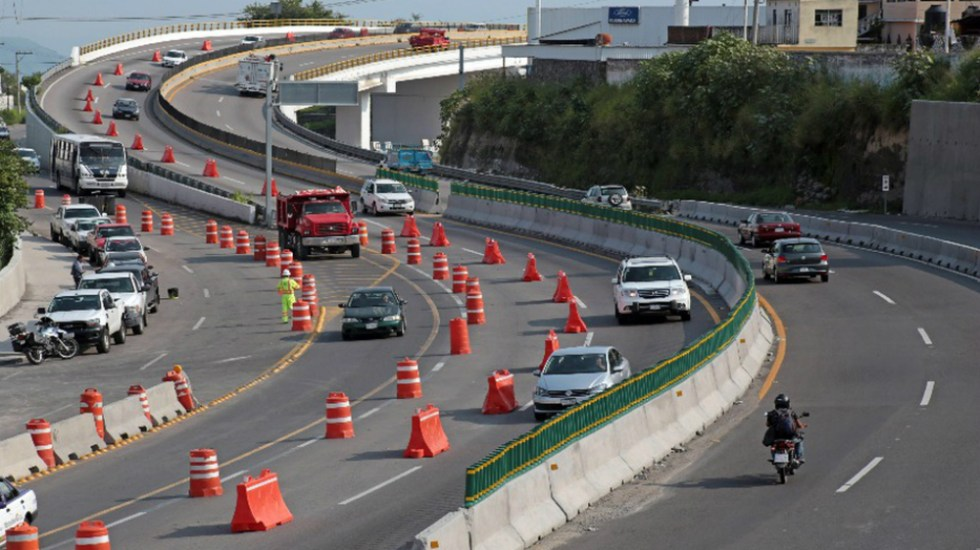 Hallan cuatro puntos de riesgo en Paso Exprés de Cuernavaca - Foto de Cuartoscuro