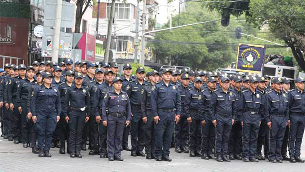 EE.UU. colabora en certificación de policías mexicanos - Foto de internet