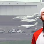 Aterriza de emergencia avión privado en el que viajaba Post Malone