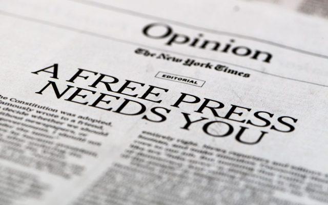 La prensa libre te necesita: New York Times