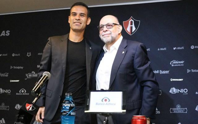 Presentan a Rafa Márquez como presidente deportivo del Atlas - Foto de @atlasfc