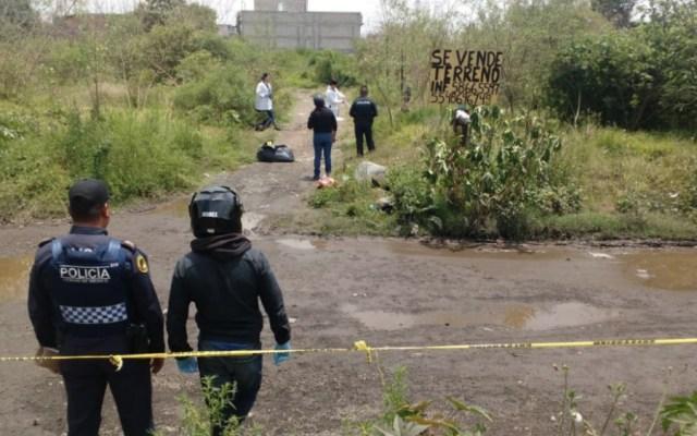 Hallan restos humanos dentro de bolsa en Tláhuac - Foto de @MrElDiablo8