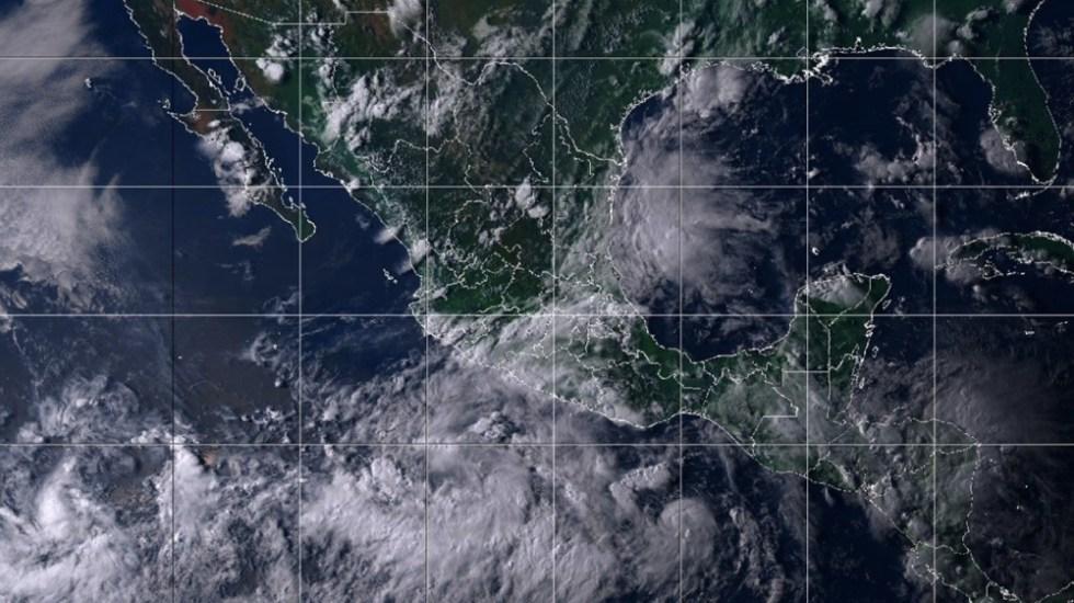 Depresión tropical en el Pacífico se convertiría en tormenta el domingo - Foto de @Notimex