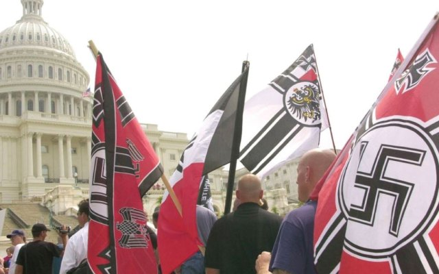 Neonazis protestarán frente a la Casa Blanca a un año de Charlottesville
