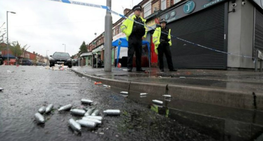 Tiroteo en Manchester deja al menos 10 heridos - Foto de Internet