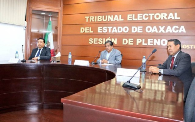 Retira Tribunal Estatal siete diputaciones plurinominales a Morena en Oaxaca - Foto de Tribunal Estatal Electoral de Oaxaca