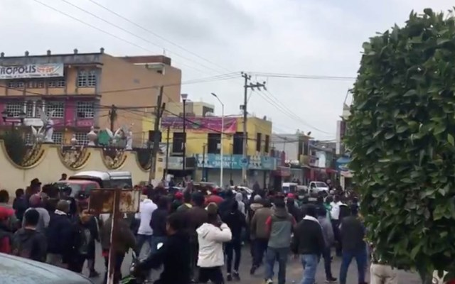 Autoridades se contradicen sobre operativo en Tultepec - Captura de Pantalla
