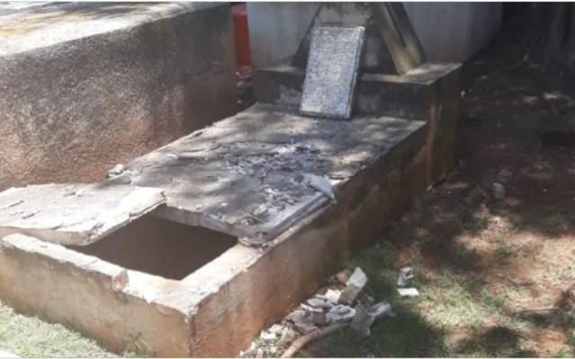 Roban cráneos de tumbas en Jalisco - Foto Especial