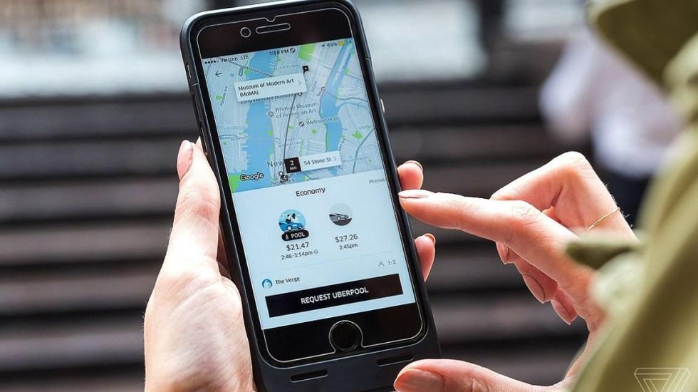 Conductores de Uber toman rutas largas para cobrar más - Foto de internet