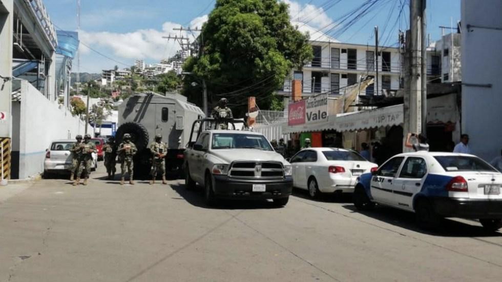 Autoridades federales y estatales toman control de la SSP de Acapulco; detienen a mandos - Foto de @ElInformanteMX