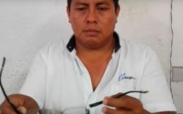 Mauricio Can Tec. Foto de internet