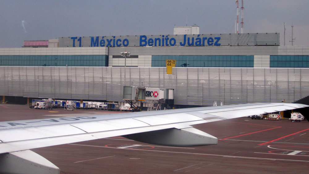 Aeropuerto Internacional Benito Juárez. Foto de internet