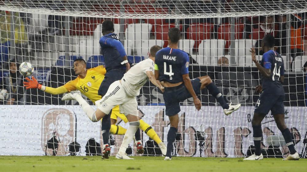 Francia y Alemania empatan en inicio de Liga de Naciones de la UEFA - Foto de AFP