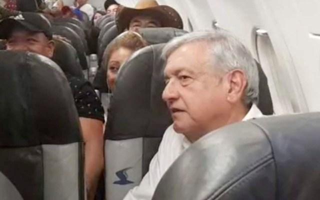#Video Se retrasa vuelo de López Obrador