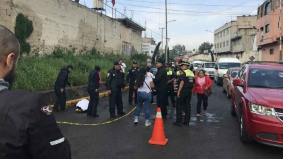 Mata a dos asaltantes en Naucalpan - Foto de Internet
