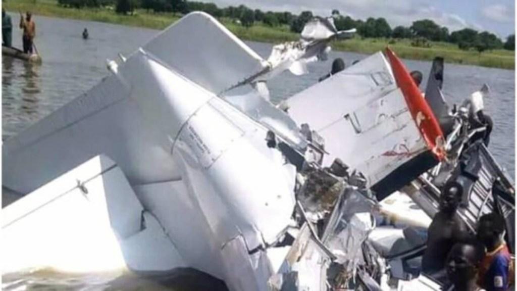 Al menos 19 muertos al estrellarse avión en Sudán del Sur - Foto de Internet