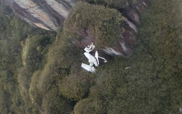 Mueren seis personas en percance aéreo en Venezuela - Foto de @FedericoBlackB