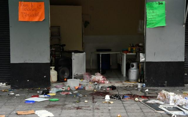 Ubicados posibles responsables de agresión en Garibaldi: Amieva - Foto de AFP