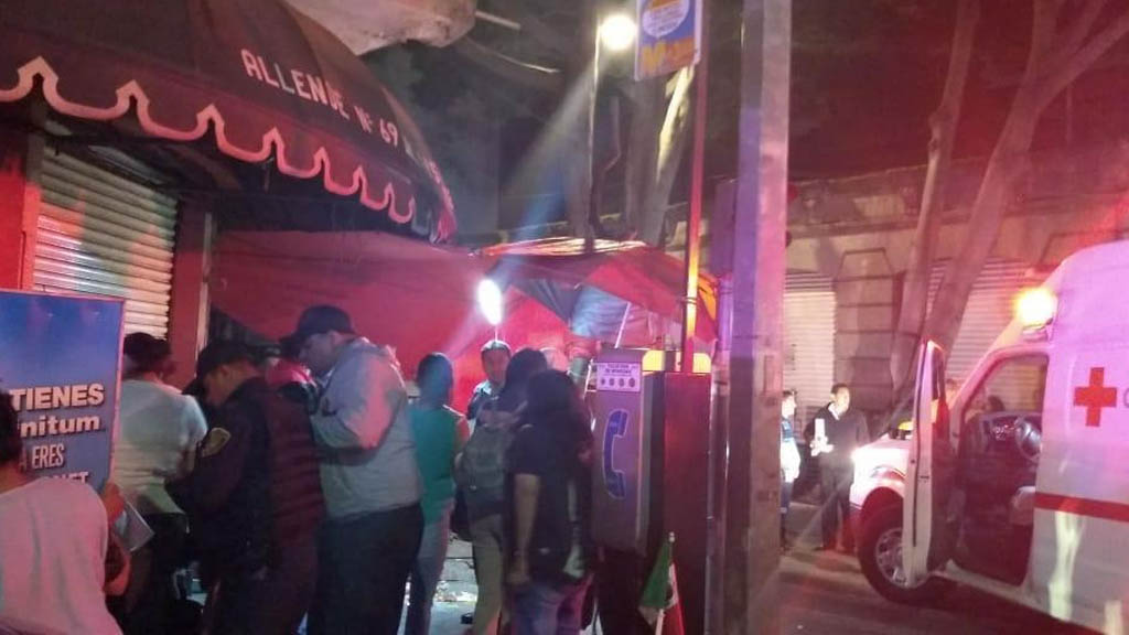 Balacera en Garibaldi deja tres muertos