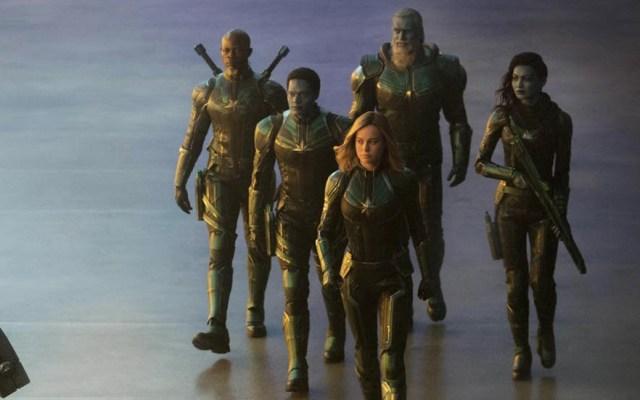 Revelan primeras imágenes del rodaje de 'Captain Marvel' - Foto de @shirklesxp