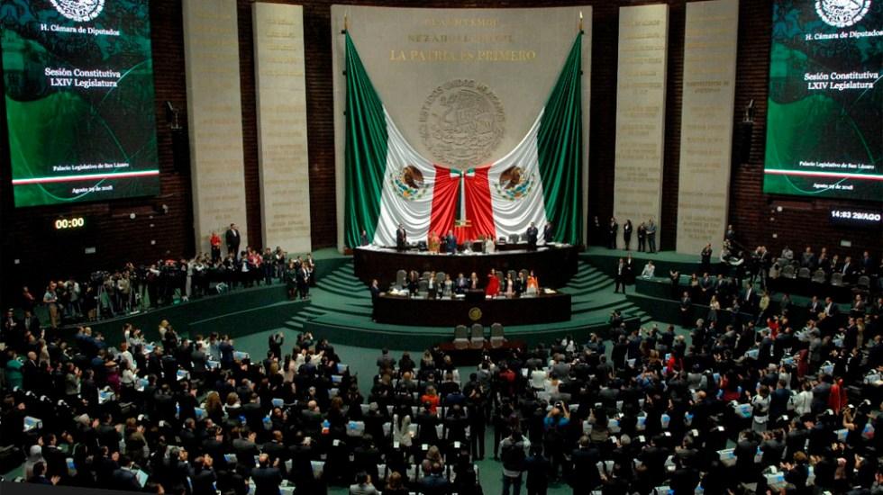 Ana Guevara propone prohibir uso de colores patrios en partidos políticos - Foto de @Mx_Diputados
