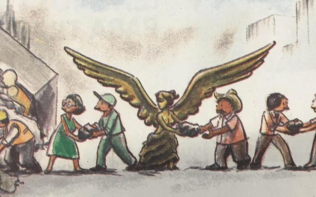 Los cartones en conmemoración del 19S - Caricatura de Solís, Excelsior