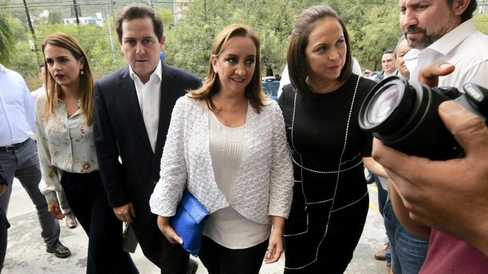 PRI ganó en municipios de Nuevo León: Claudia Ruiz Massieu - Foto de Twitter PRI