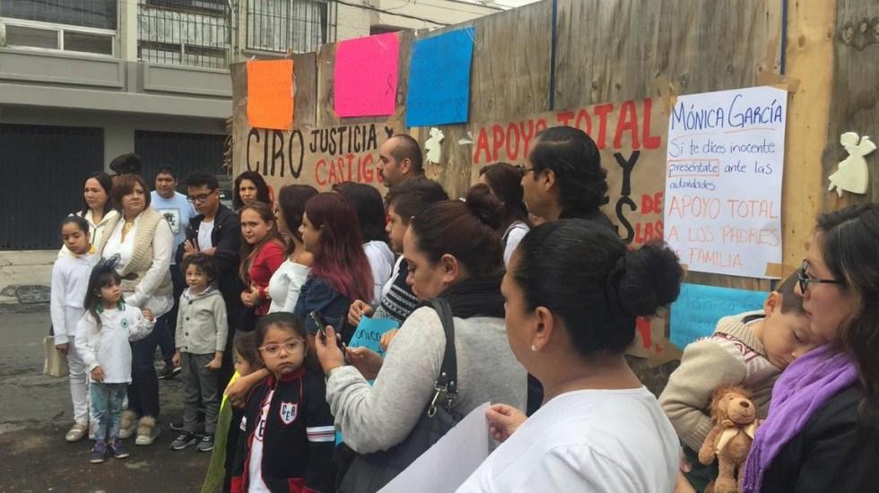 Llaman a juicio a familiares de víctimas del colegio Rébsamen - Rébsamen