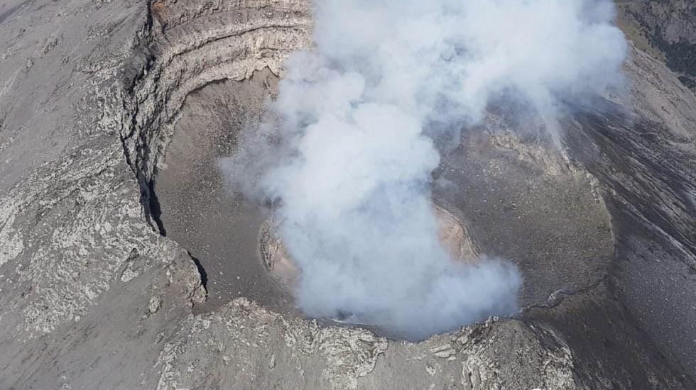 Recomendaciones ante la caída de ceniza por actividad del Popocatépetl - Foto de Cenapred
