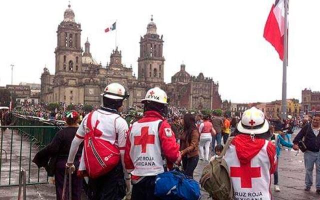 Cruz Roja aplica operativo por fiestas patrias en la Ciudad de México - Foto de @CruzRoja_MX