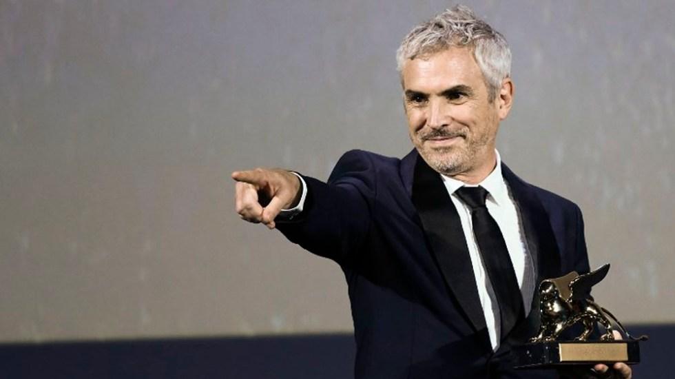 Cuarón y Roma obtienen tres nominaciones para GlobosdeOro - Foto de Filippo MONTEFORTE / AFP