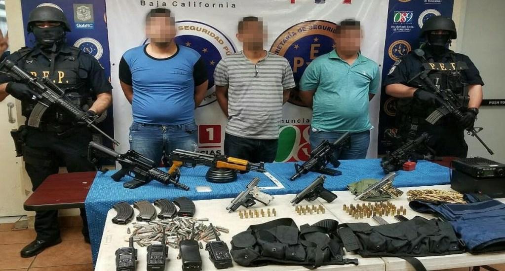 """Detienen a """"El parra"""", líder del tráfico de totoaba y metanfetamina - Foto de @SSPE_BC"""
