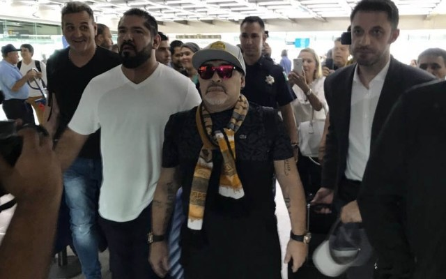 Detienen a Maradona en Argentina - Maradona