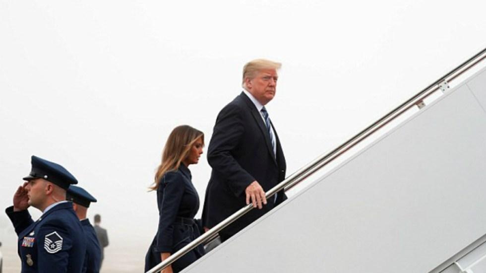 Trump visitará Carolina del Norte tras paso de Florence - Foto de Reuters